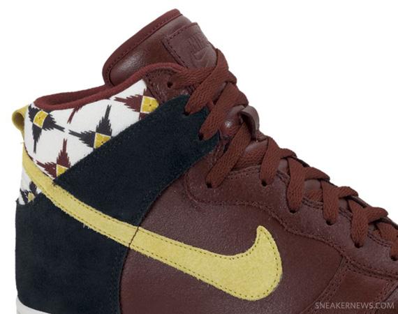 best website 6acb4 e0ac7 Nike Dunk High  Aztec  Pack – Oxen Brown   Lion   Black   Sand ...